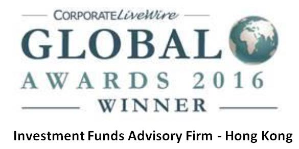 Global Awards 2016 - Investment Funds Advisory Firm - Hong Kong