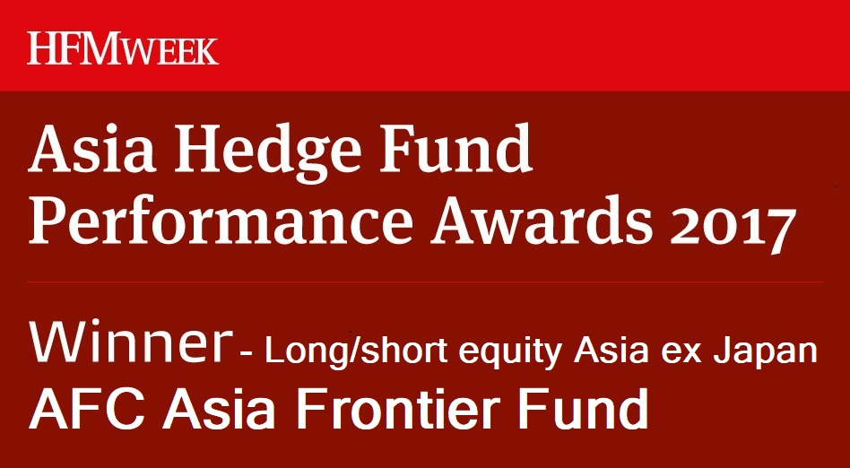 HFM Asia Hedge Fund Performance Awards 2017